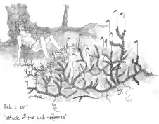 'attack of club-mosses' both halves