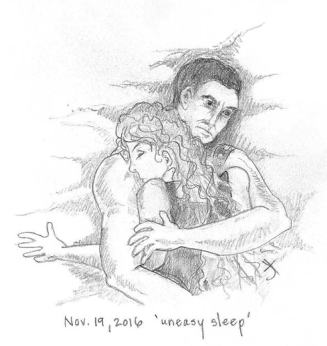 'uneasy sleep'