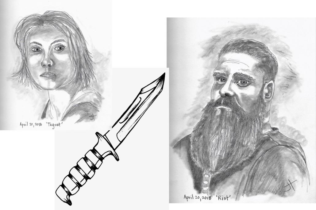 knife romance split